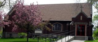 church spring outside